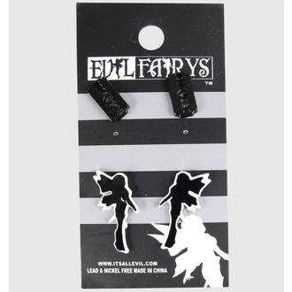 náušnice EVIL FAIRYS - EFES1 - Fairy & Razorblade, EVIL FAIRYS