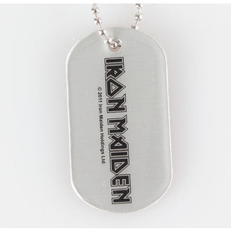 obojek (psí známka) IRON MAIDEN - Logo - RAZAMATAZ, RAZAMATAZ, Iron Maiden
