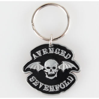 klíčenka (přívěšek) Avenged Sevenfold - Death Bat - RAZAMATAZ, RAZAMATAZ, Avenged Sevenfold