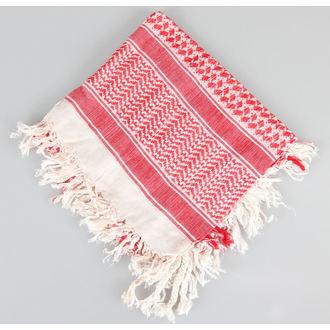 šátek ARAFAT - palestina - bílo-červená