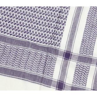 šátek ARAFAT - palestina - bílo-fialová