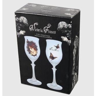 sklenice (sada 2 kusů) Victoria Frances - Butterfly U. Butterfly, VICTORIA FRANCES, Victoria Francés