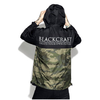 bunda (unisex) BLACK CRAFT - Staple Black on Camo, BLACK CRAFT