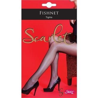 punčocháče LEGWEAR - Scarlet - Fishnet - SHSCFT1BL1