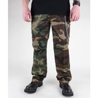 kalhoty pánské MIL-TEC - US Feldhose - Woodland - 11805020