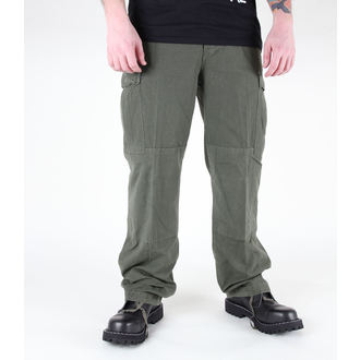 kalhoty pánské MIL-TEC - US Feldhose - CO Prewash Oliv, MIL-TEC