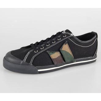 boty pánské MACBETH - Eliot - Black/Velcro Pennant Patch