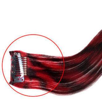 clip (příčesek) na vlasy MANIC PANIC - Synthetic - Pretty Flamingo, MANIC PANIC