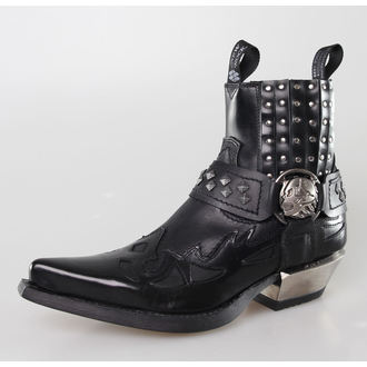 boty NEW ROCK - 7950-S1 - ANTIK NEGRO
