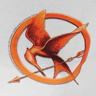 tričko dámské Hunger Games - Mocking Jay Pin - LIVE NATION, LIVE NATION