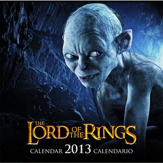kalendář na rok 2013 Pán prstenů - English & Spanish Version