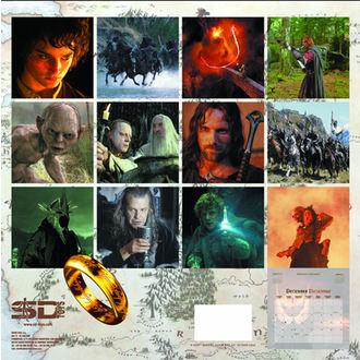 kalendář na rok 2013 Pán prstenů - English & Spanish Version, NNM