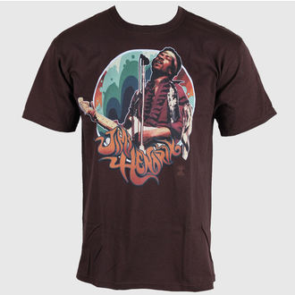 tričko pánské Jimi Hendrix - Hendrix Groove - LIQUID BLUE, LIQUID BLUE, Jimi Hendrix