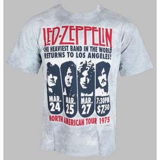tričko pánské Led Zeppelin - Zeppelin LA 1975 - LIQUID BLUE - 11813