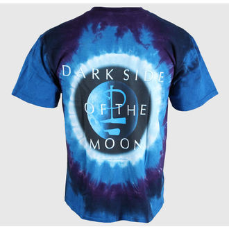 tričko pánské Pink Floyd - Dark Side Galaxy - LIQUID BLUE, LIQUID BLUE, Pink Floyd