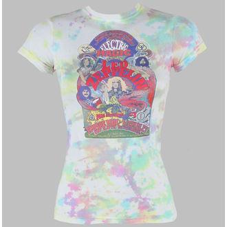 tričko dámské Led Zeppelin - Electric Magic - LIQUID BLUE, LIQUID BLUE, Led Zeppelin