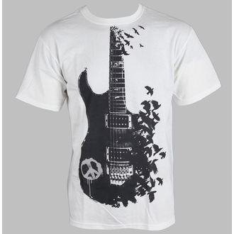 tričko pánské Music - Crow Guitar - LIQUID BLUE - 21727