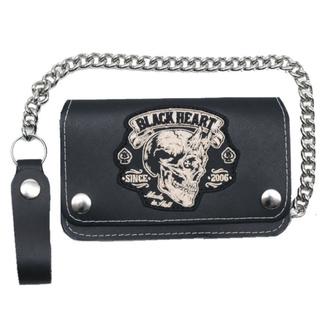 peněženka BLACK HEART - DEVIL - BLACK, BLACK HEART
