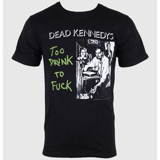tričko pánské Dead Kennedys - Too Drunk - Black - IMPACT, IMPACT, Dead Kennedys
