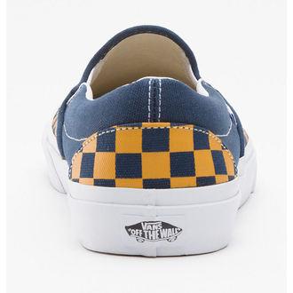 boty VANS - Classic Slip-on (Vintage Check) - Dress Bly