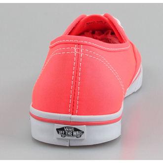 boty VANS - Authentic Lo Pro (Neon) - Coral
