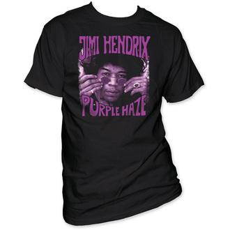 tričko pánské Jimi Hendrix - Purple Haze - Black - IMPACT, IMPACT, Jimi Hendrix