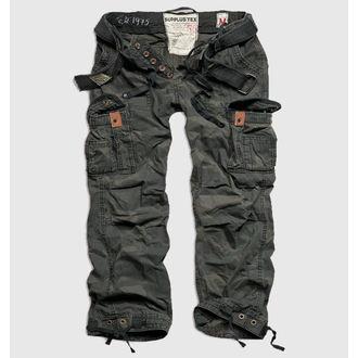 kalhoty pánské SURPLUS - Premium Vintage - Black Camo