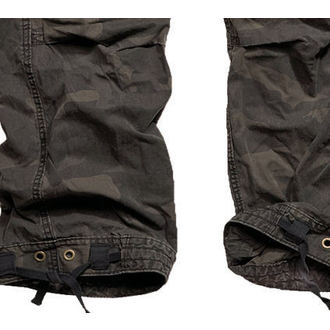 kalhoty pánské SURPLUS - Premium Vintage - Black Camo - 05-3597-42