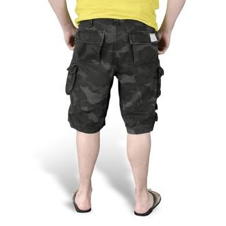 kraťasy pánské SURPLUS - Trooper - Black Camo - 07-5600-42