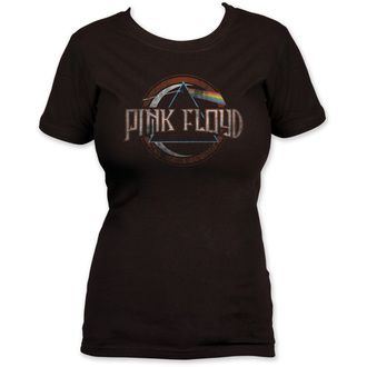tričko dámské Pink Floyd - Dark Side of the Moon seal - Black - IMPACT - PFJT04