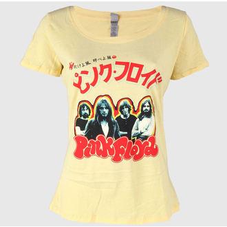 tričko dámské Pink Floyd - Japan Tour 1972 - Banana Cream - IMPACT, IMPACT, Pink Floyd