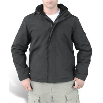 bunda pánská (větrovka) SURPLUS - Windbreaker - Black