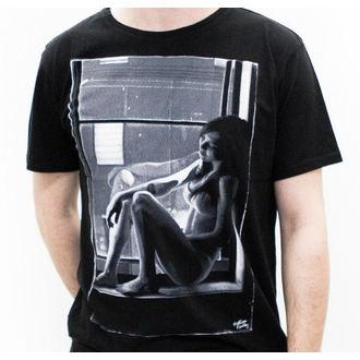 tričko pánské MACBETH - Girl - Black Premium