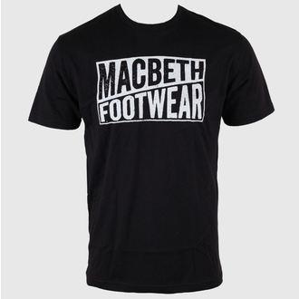 tričko pánské MACBETH - Old Type - Black Classic