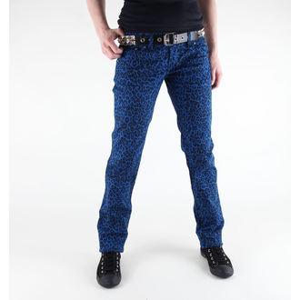 kalhoty dámské 3RDAND56th - Print Skinnies - JM409 - ROYAL