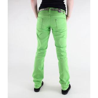 kalhoty dámské 3RDAND56th - Super Skinny Hipster - JM391 - LIME