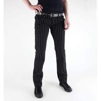 kalhoty dámské 3RDAND56th - Skinnies - JM407 - BLACK-WHITE