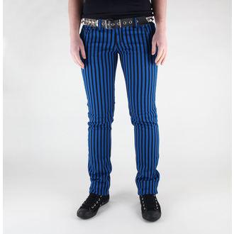 kalhoty dámské 3RDAND56th - Stripe Skinny - JM444 - BLK-ROYAL