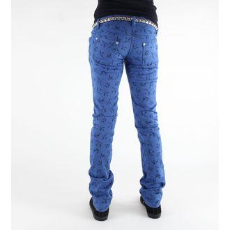 kalhoty dámské 3RDAND56th - Swallow Skinny Jeans - JM1118