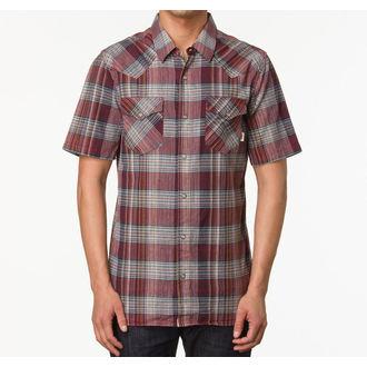 košile pánská VANS - Edgeware - Redrum Plaid - VO47VV