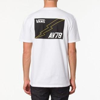 tričko pánské VANS - AV78 pocket Tee - White, VANS