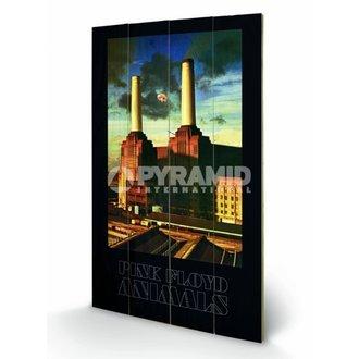 dřevěný obraz Pink Floyd - Animals - Pyramid Posters, PYRAMID POSTERS, Pink Floyd