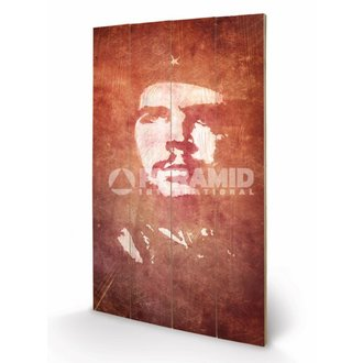 dřevěný obraz Che Guevara (Exposure) - Pyramid Posters, PYRAMID POSTERS, Che Guevara