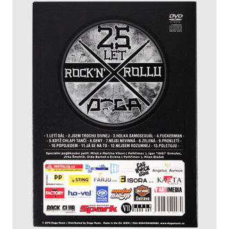 DVD DOGA 25 let Rock´n´Rollu, Doga