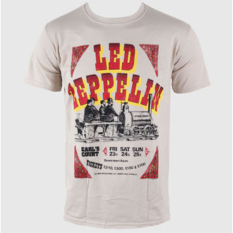 tričko pánské Led Zeppelin - Earls Court Tickets - LIVE NATION, LIVE NATION, Led Zeppelin