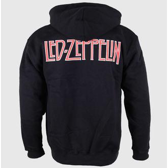 mikina pánská Led Zeppelin - Logo & Symbols - Black, NNM, Led Zeppelin