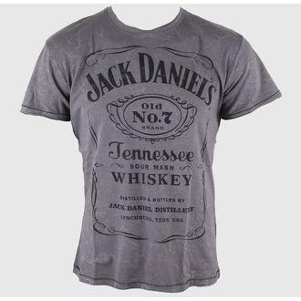tričko pánské Jack Daniels - Acid Washed - BIOWORLD, JACK DANIELS