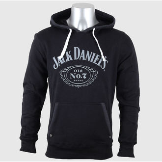 mikina pánská Jack Daniels - Old No. 7 - Black, JACK DANIELS