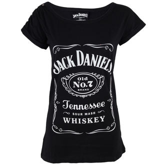 tričko dámské Jack Daniels - Classic Logo - Black, JACK DANIELS