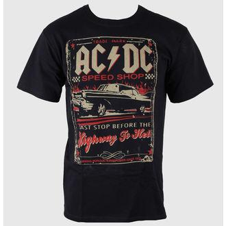 tričko pánské AC/DC - Speedshop - LIQUID BLUE - 31818